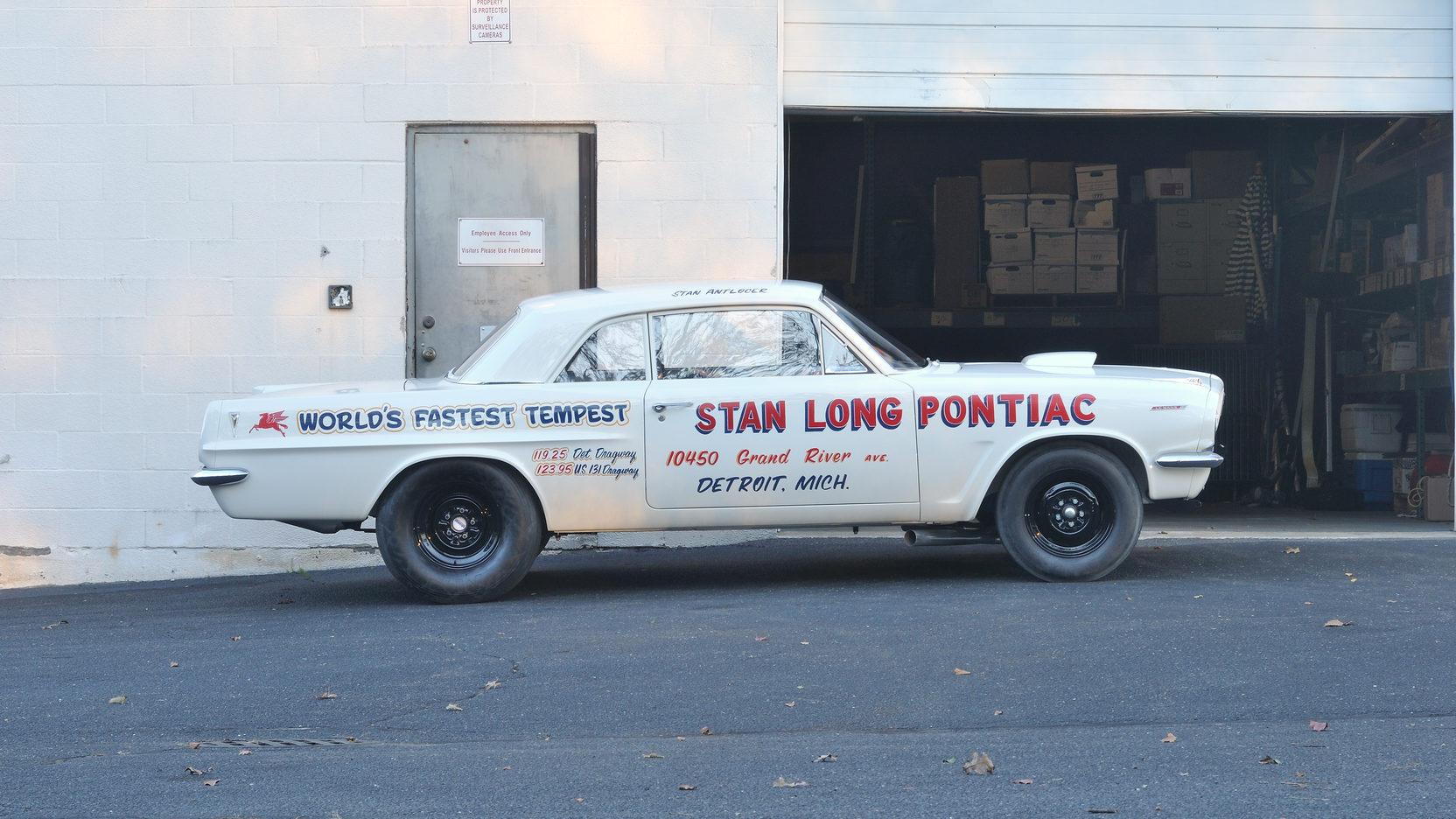 1963 Pontiac Tempest Super Duty side profile