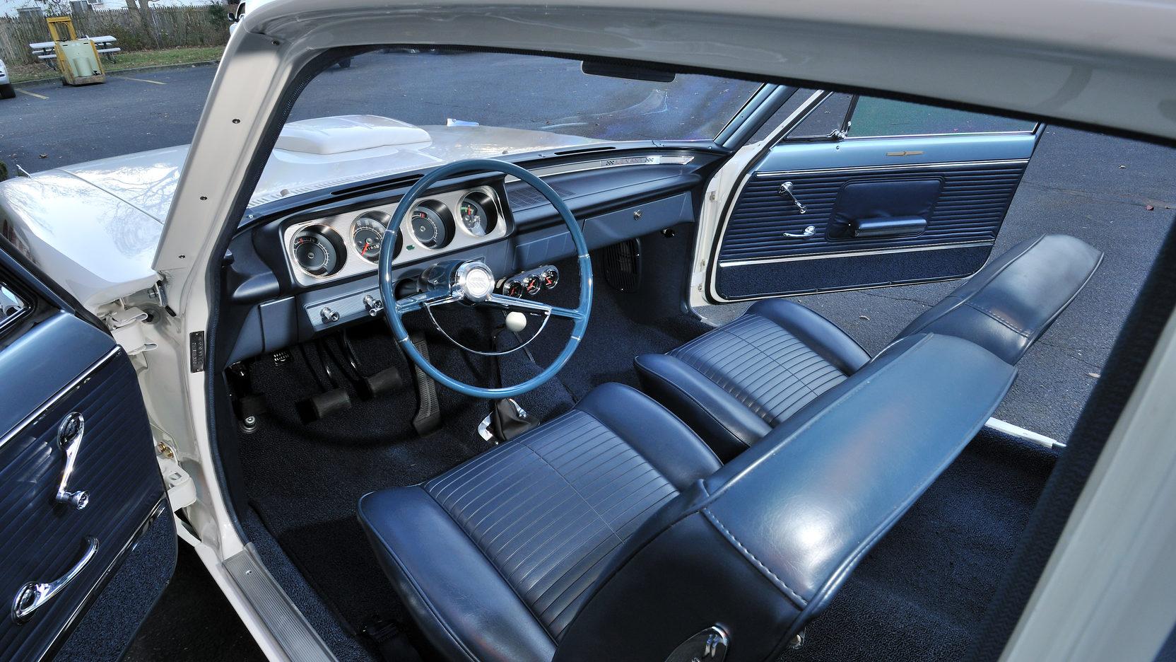 1963 Pontiac Tempest Super Duty Interior