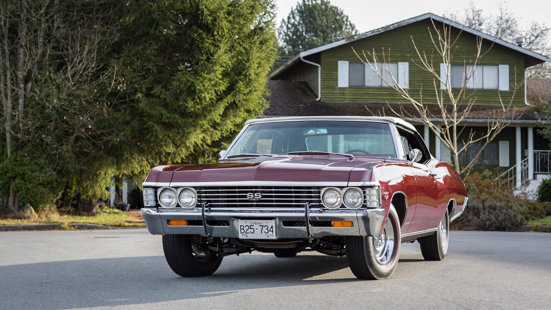 1967–69 Impala SS 427 front 3/4
