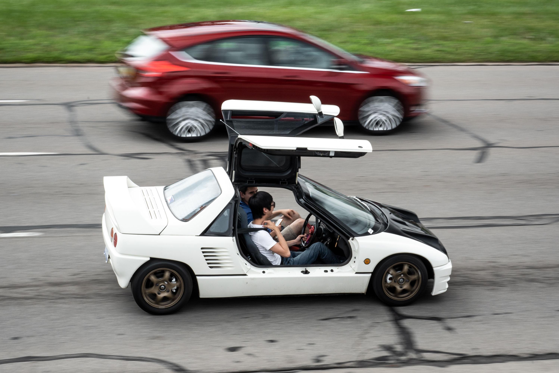 woodward dream cruise autozam az1 rhd
