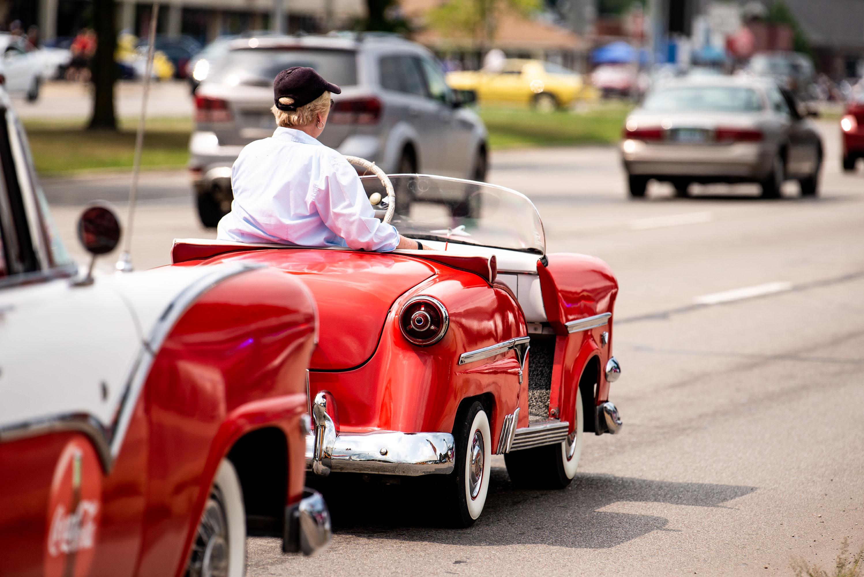 woodward dream cruise 50s microcar