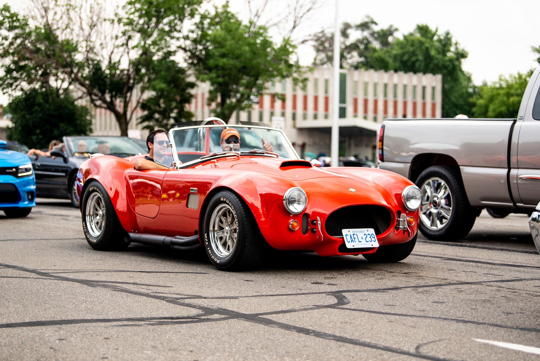 woodward dream cruise red cobra
