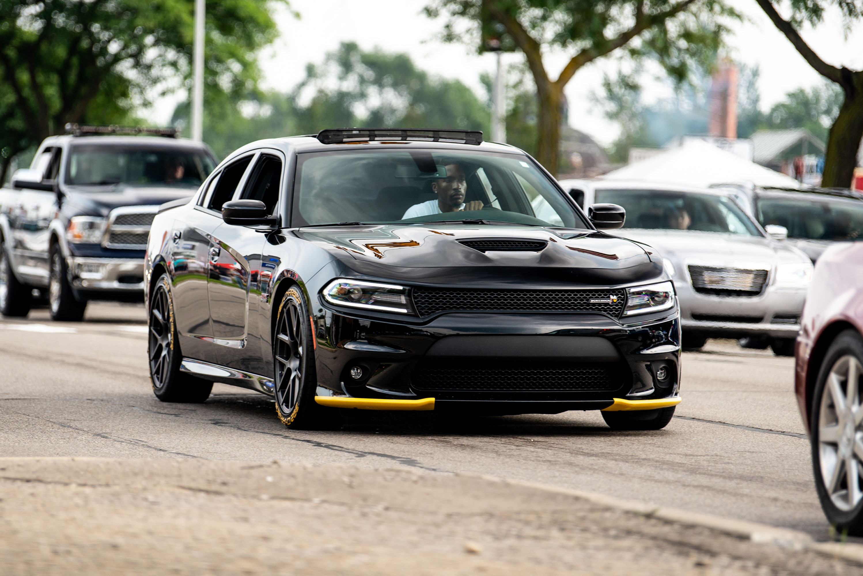 woodward dream cruise charger scat pack