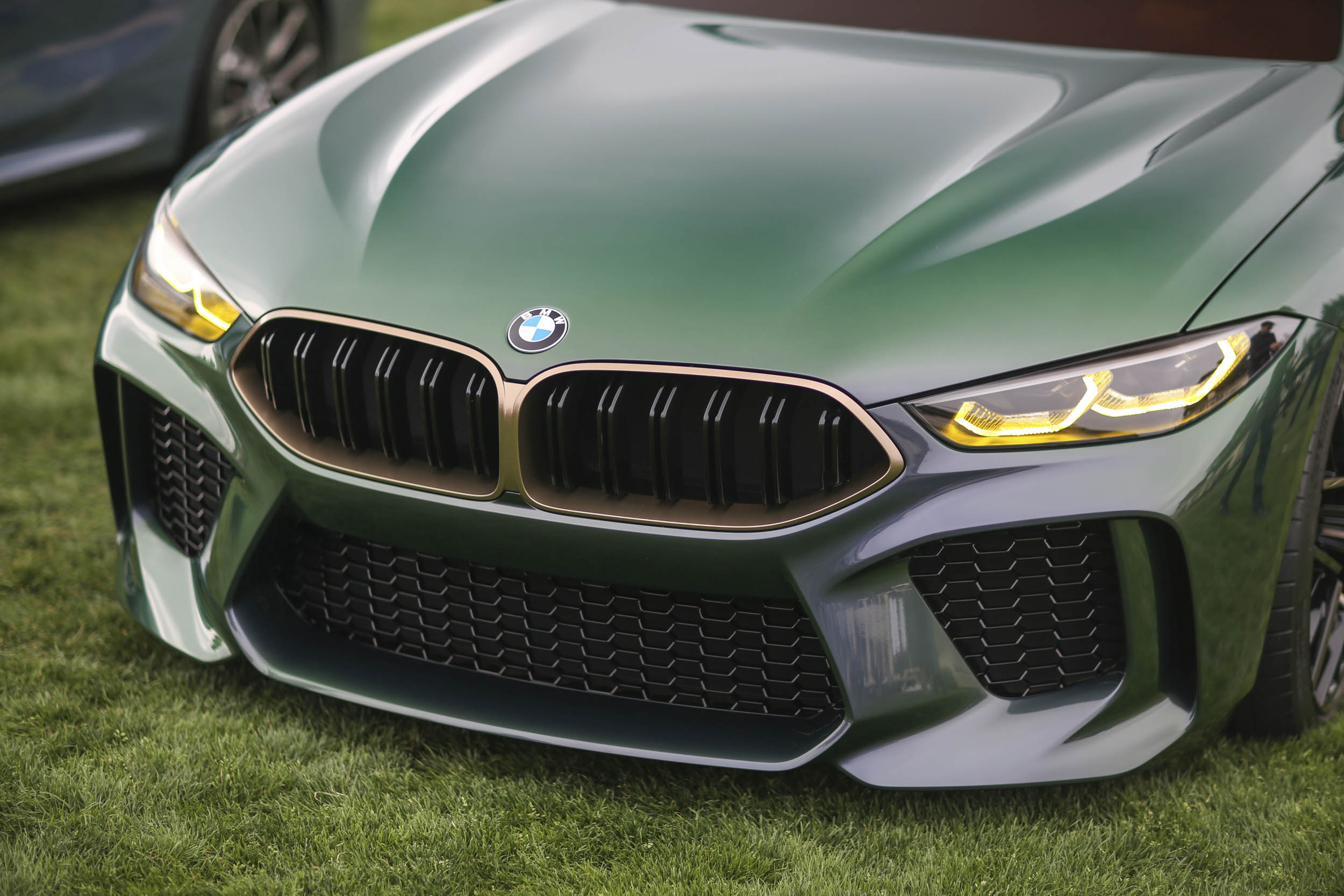 BMW M8 Gran Coupe nose