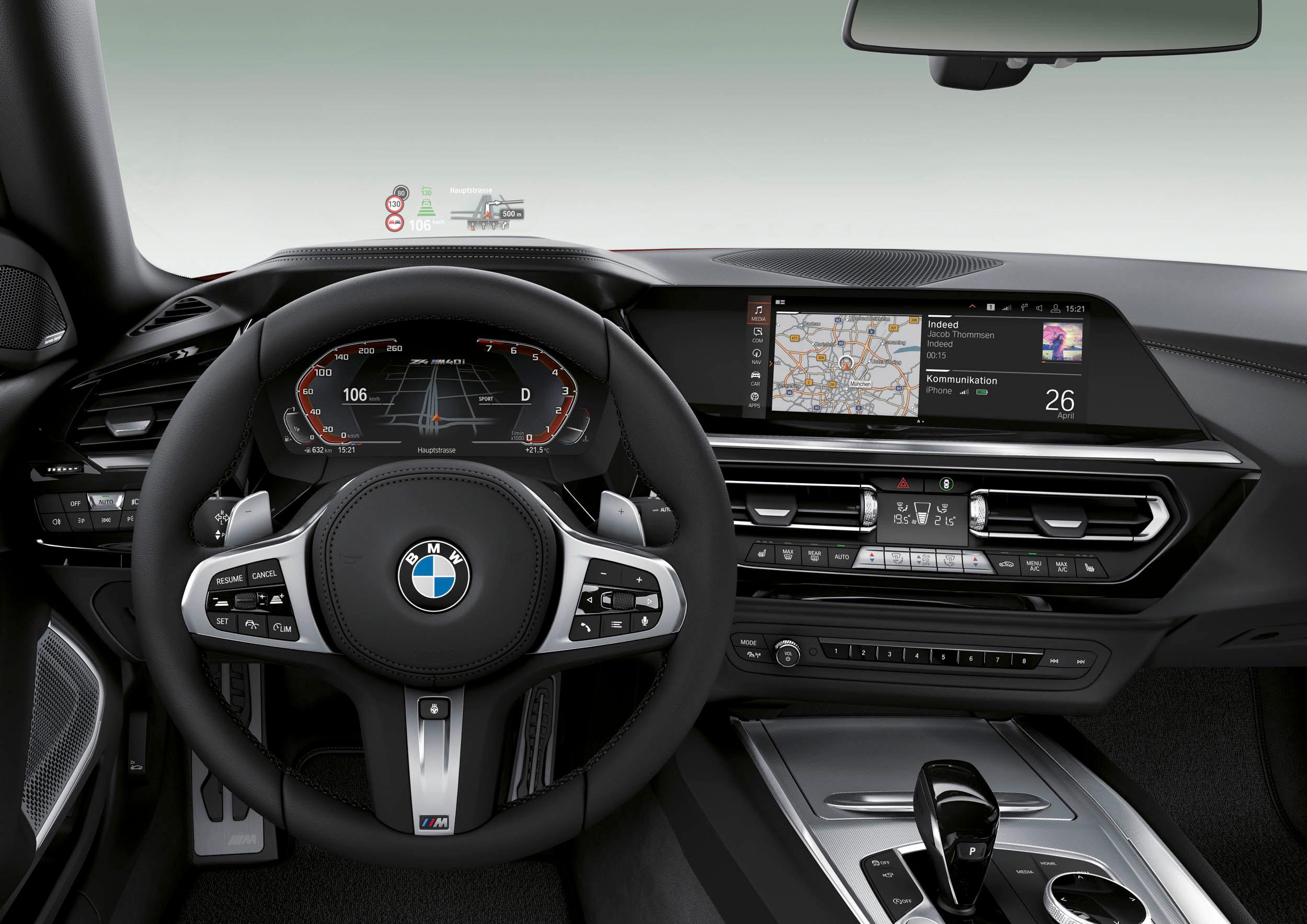 BMW Z4 dash