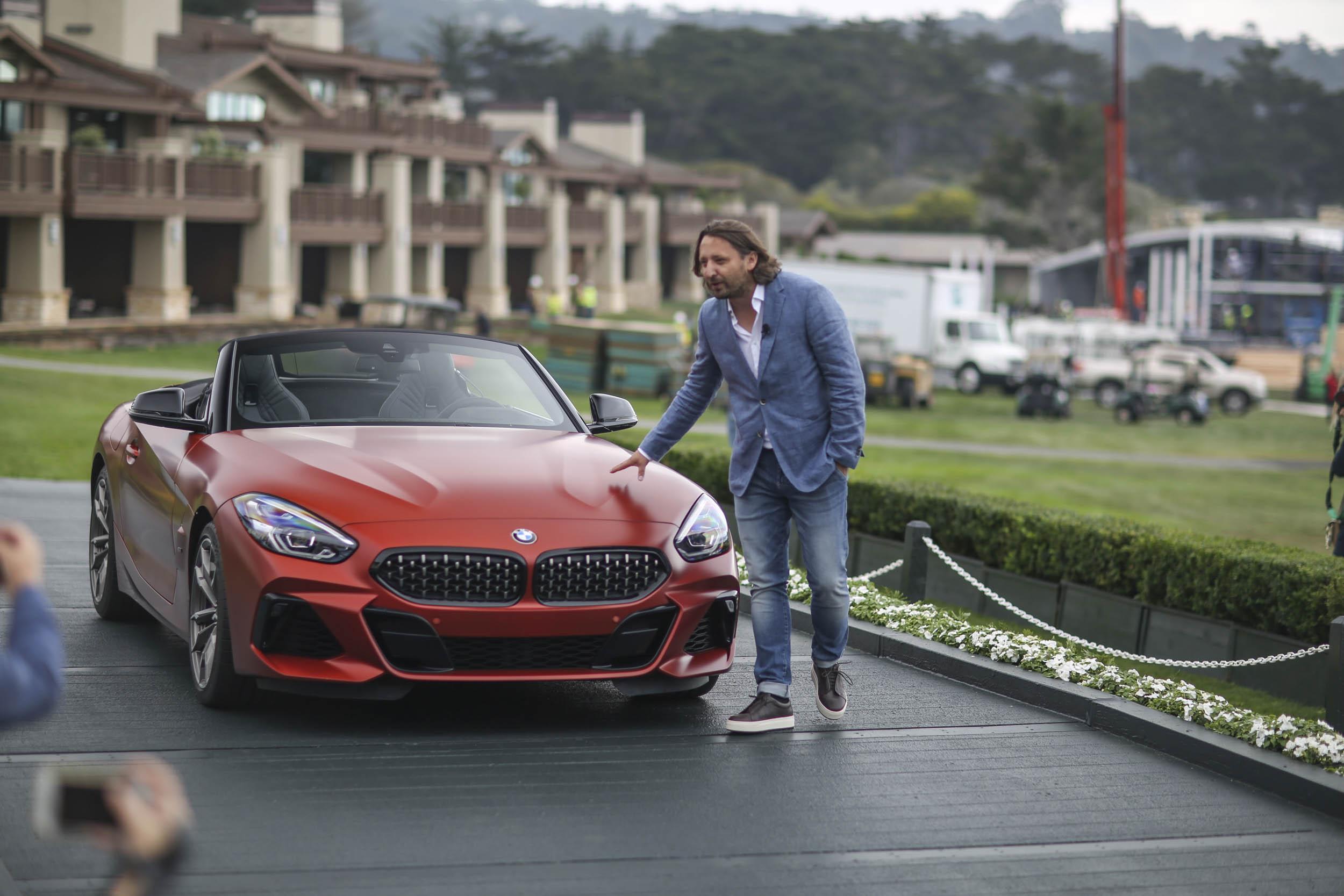 BMW Z4 M40i roadster unveil