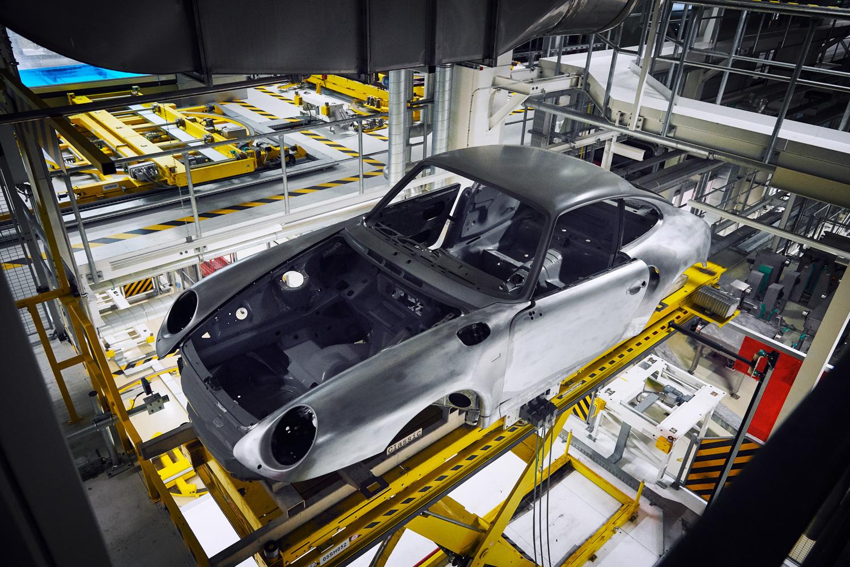 "Porsche ""Project Gold"" 993 Turbo body shell"