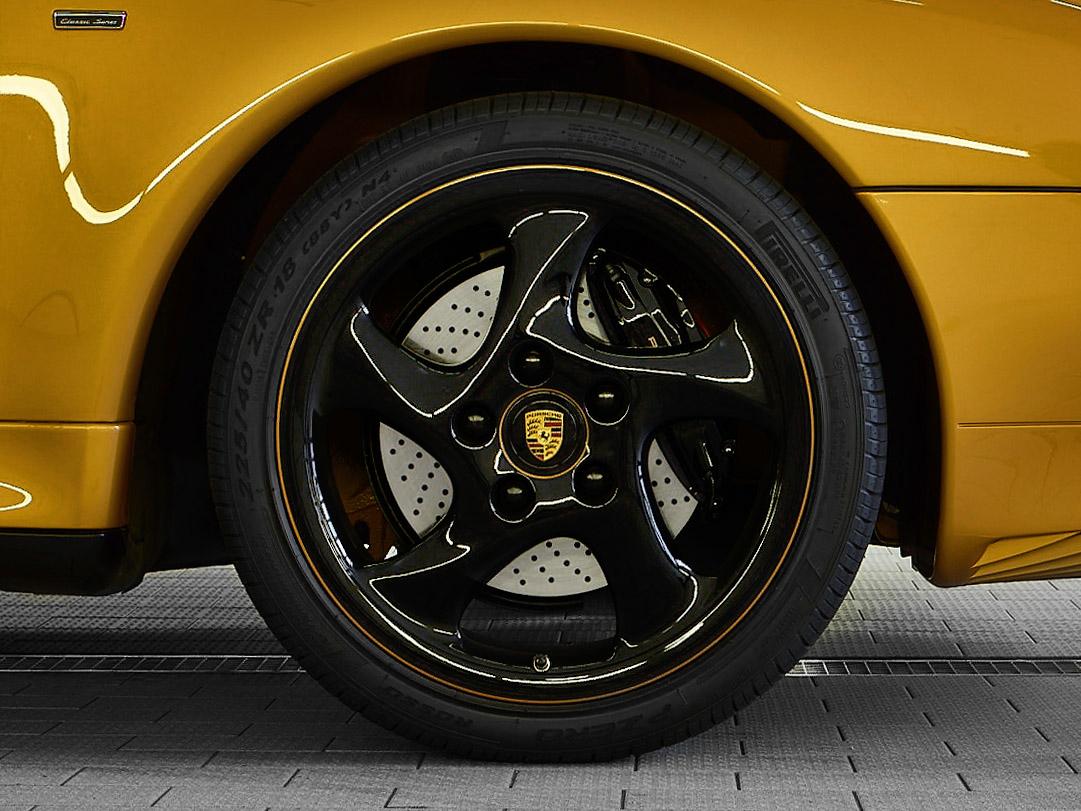 "Porsche ""Project Gold"" 993 Turbo wheels"
