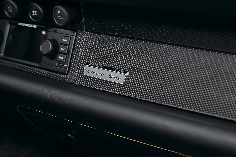 "Porsche ""Project Gold"" 993 Turbo classic series badge"