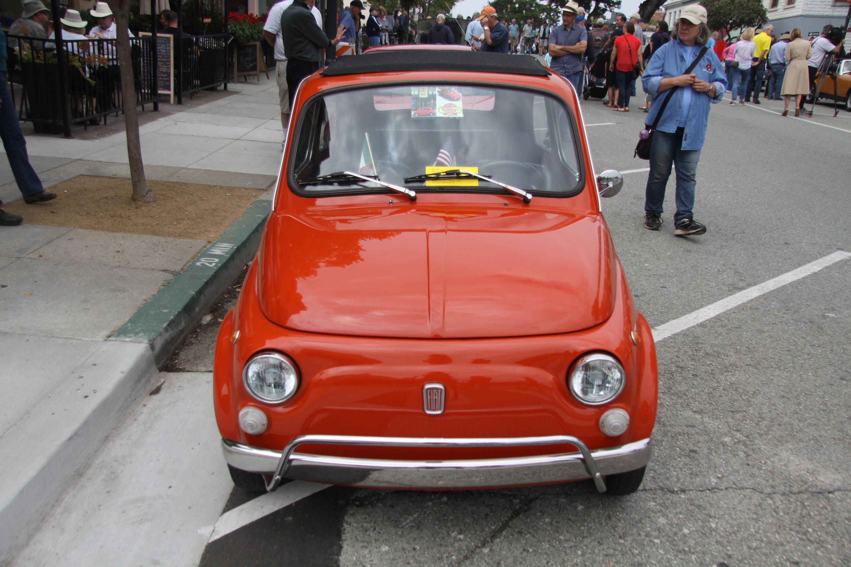 little car show fiat 500