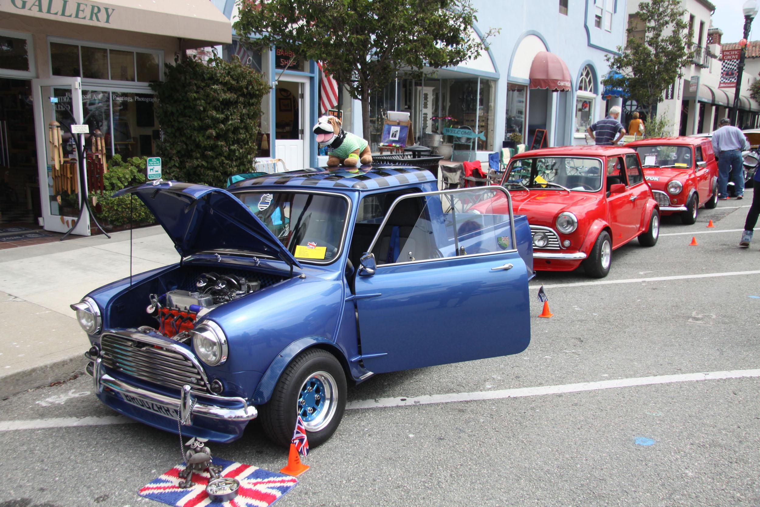 little car show mini cooper modified engines