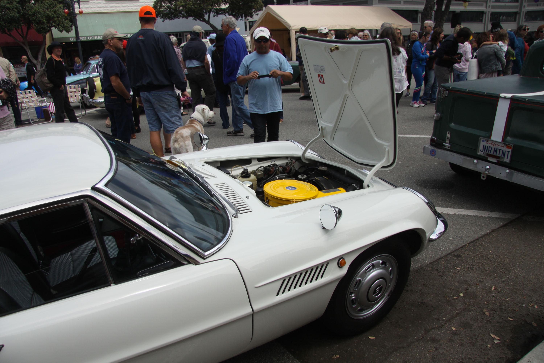 little car show mazda cosmo engine