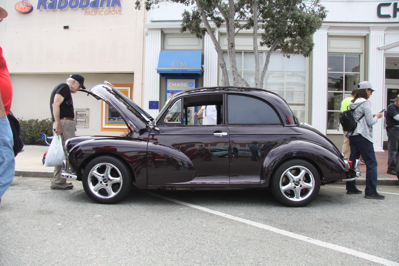 little car show morris side profile