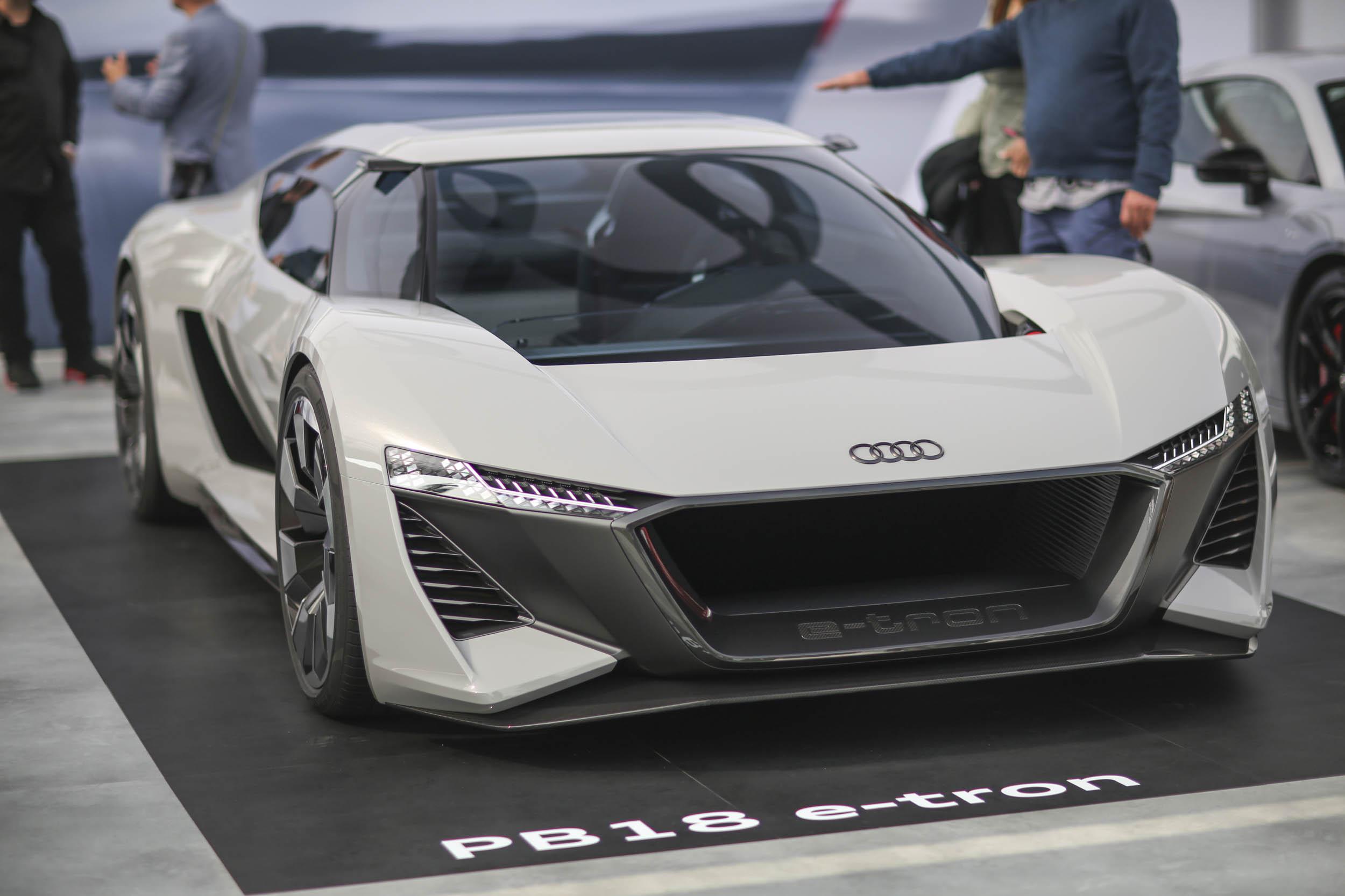 Audi PB18 e-tron at The Quail