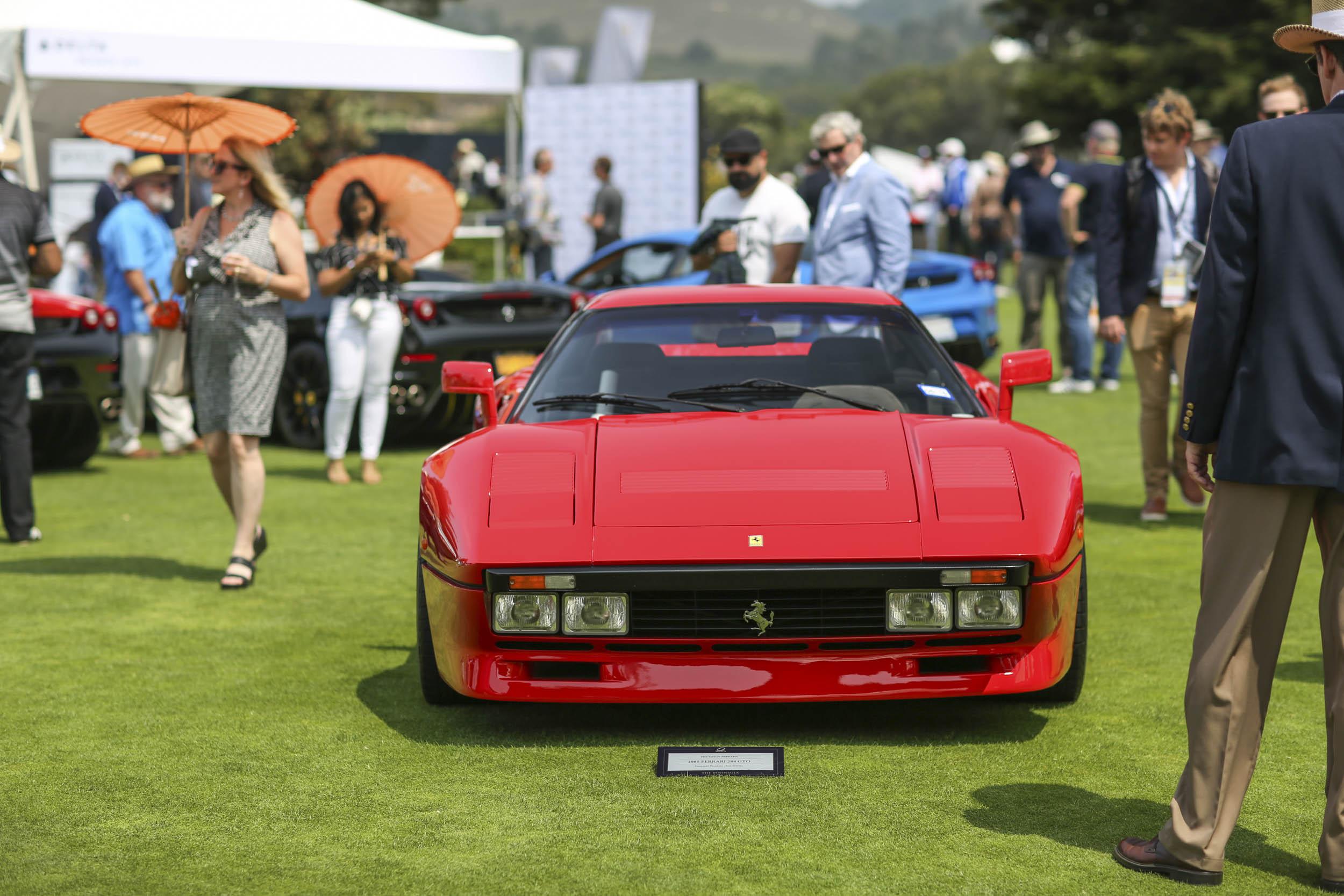 The Quail Ferrari