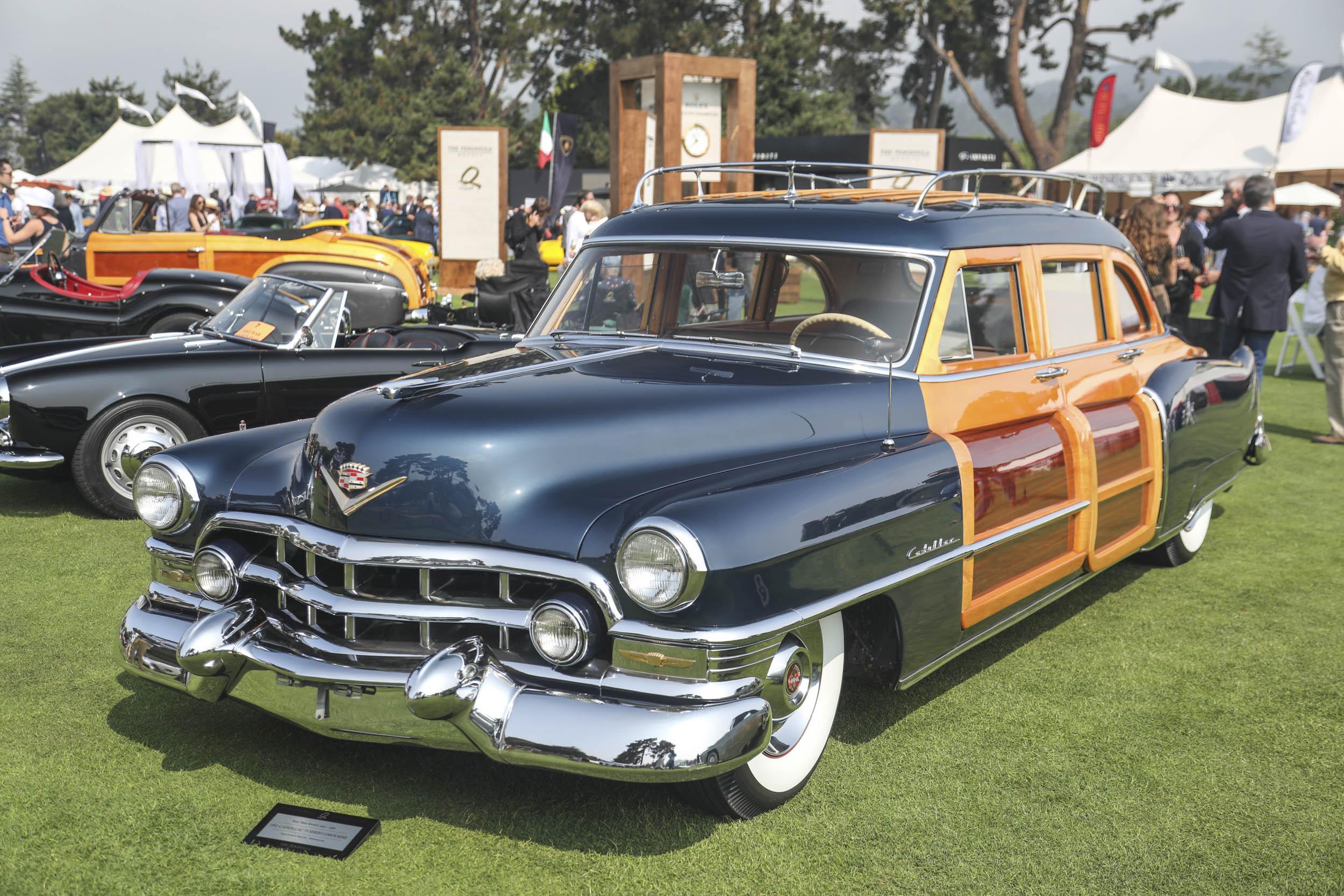 Cadillac woodie wagon