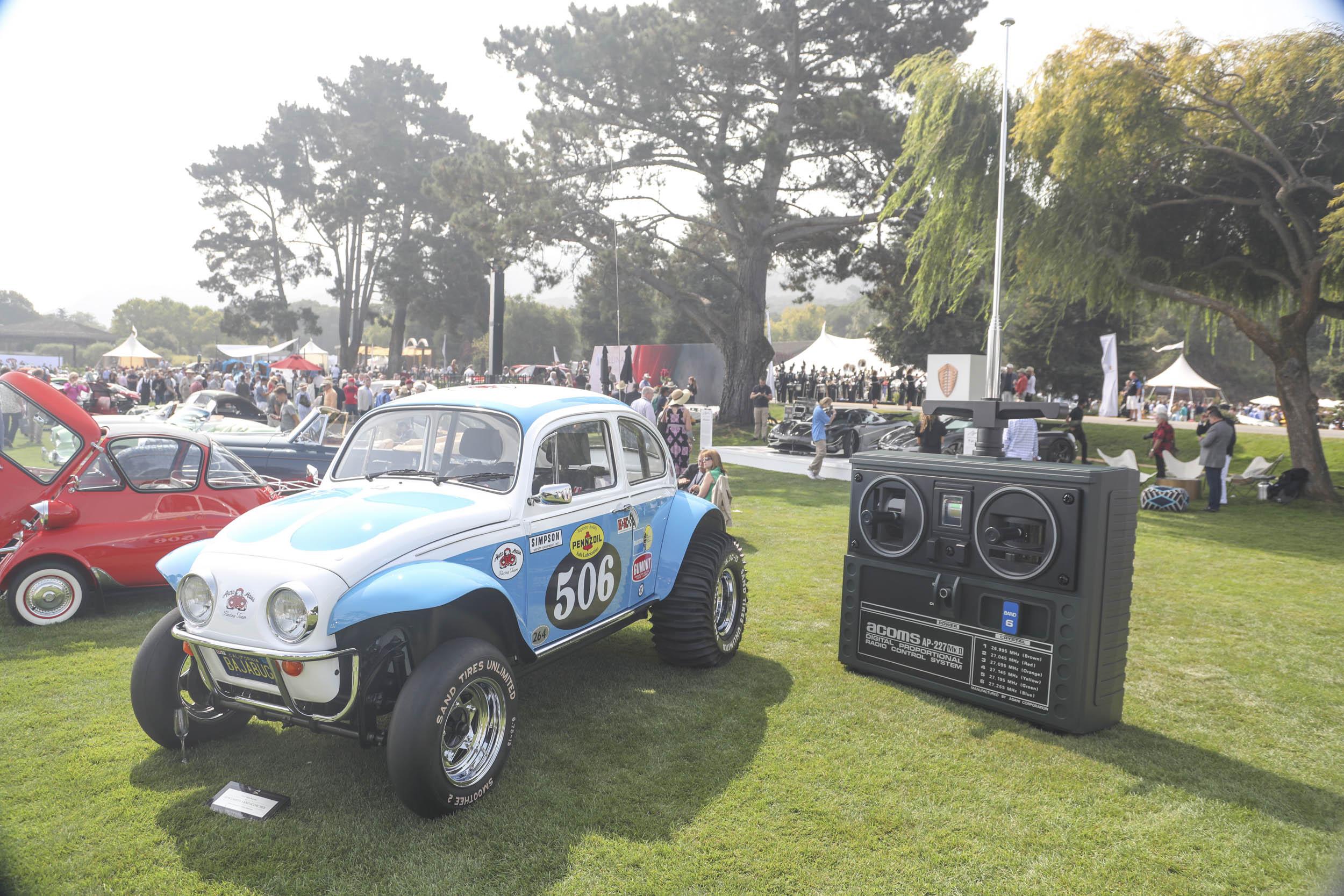 custom VW Beetle RC car