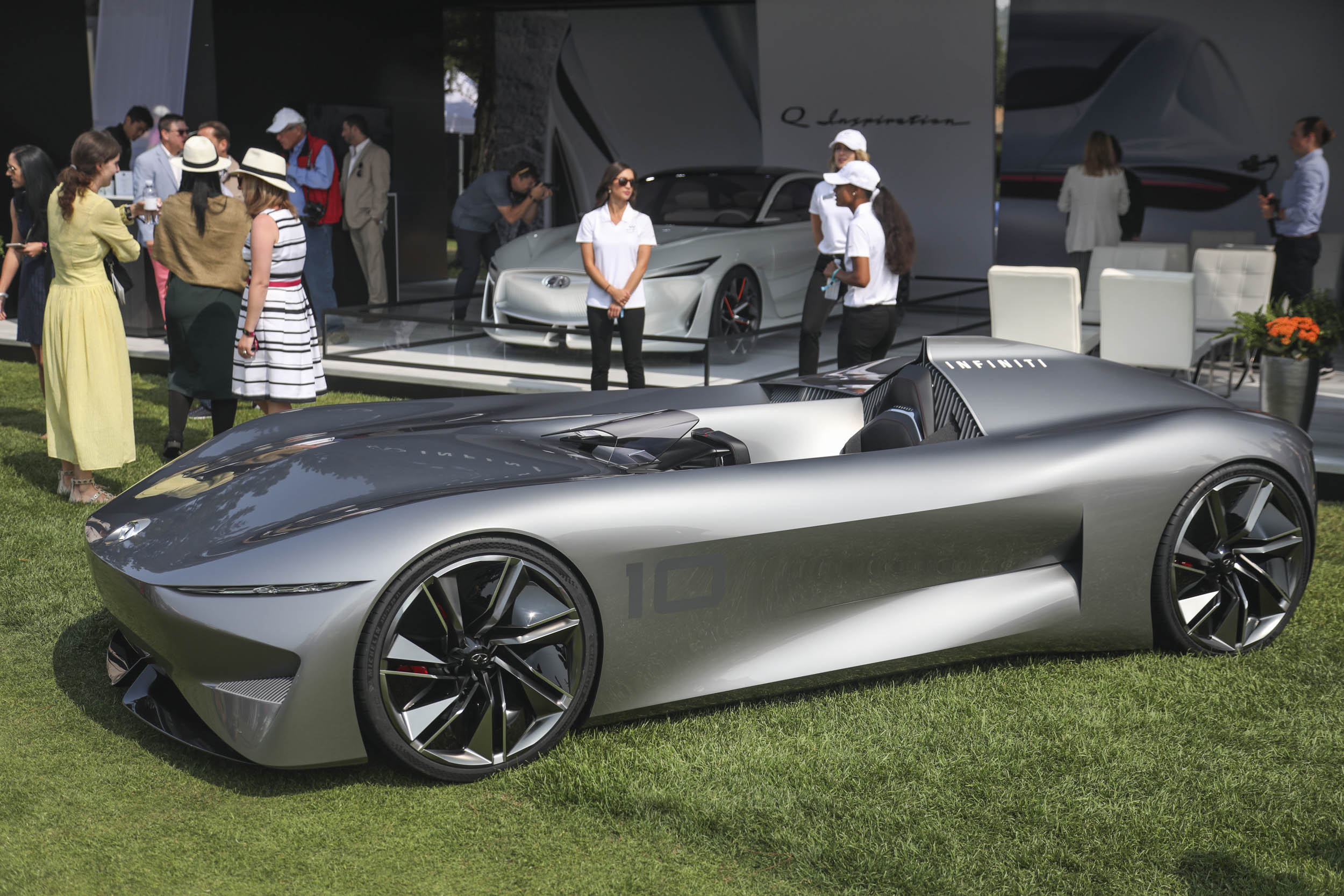 The Quail, a Motorsports Gathering Infinity 10 roadster concept