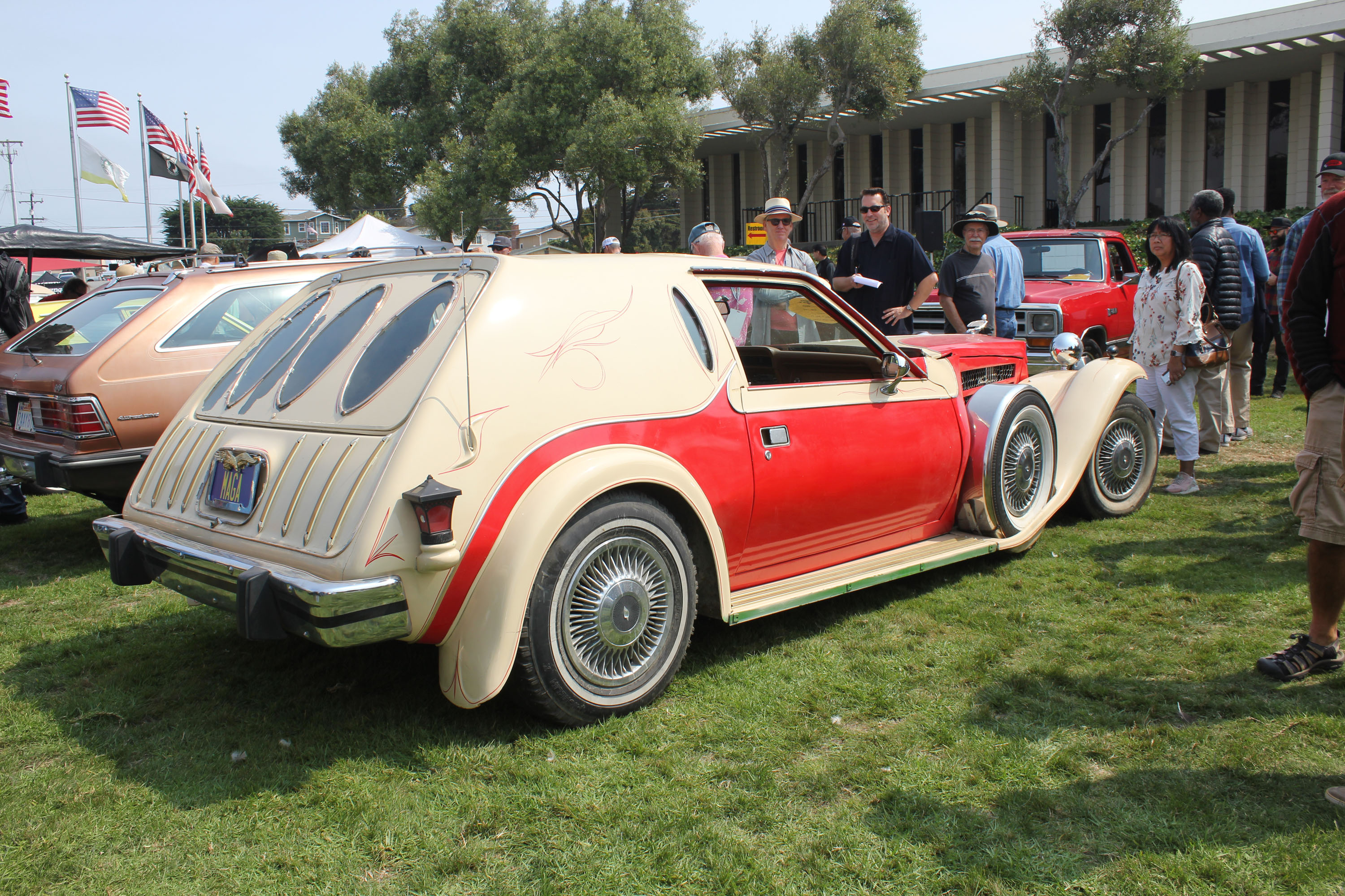 concours lemons monterey 2018 worst best in show rear