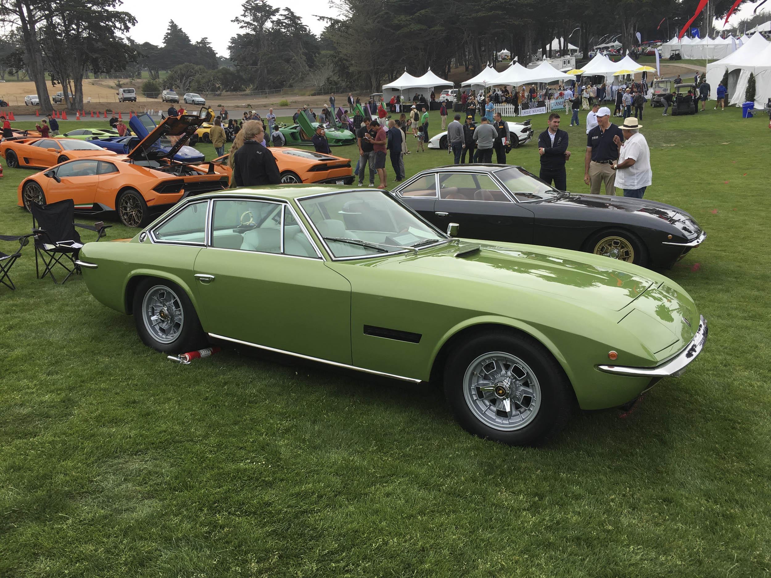 1969 Lamborghini Islero S front 3/4