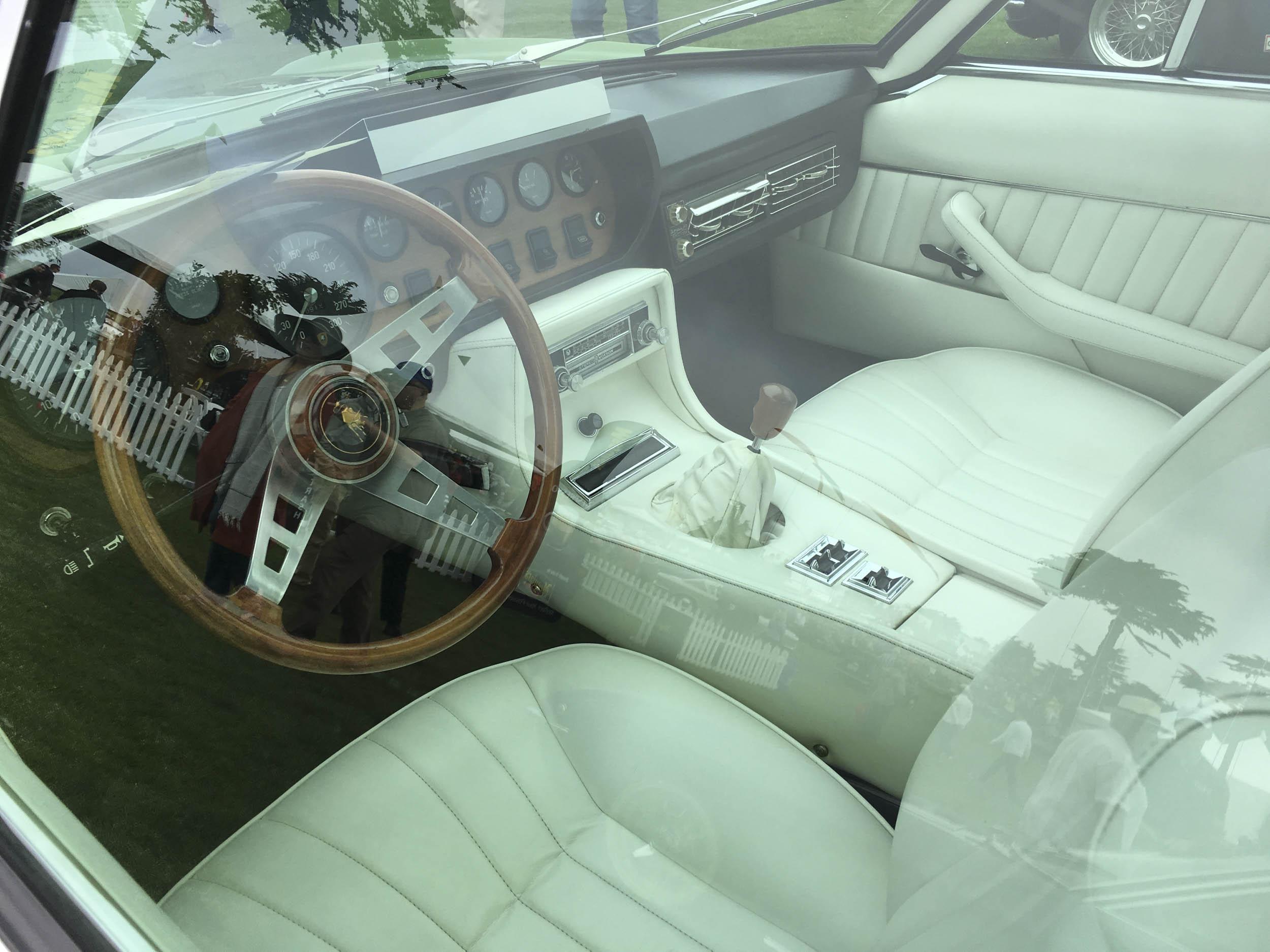 1969 Lamborghini Islero S interior