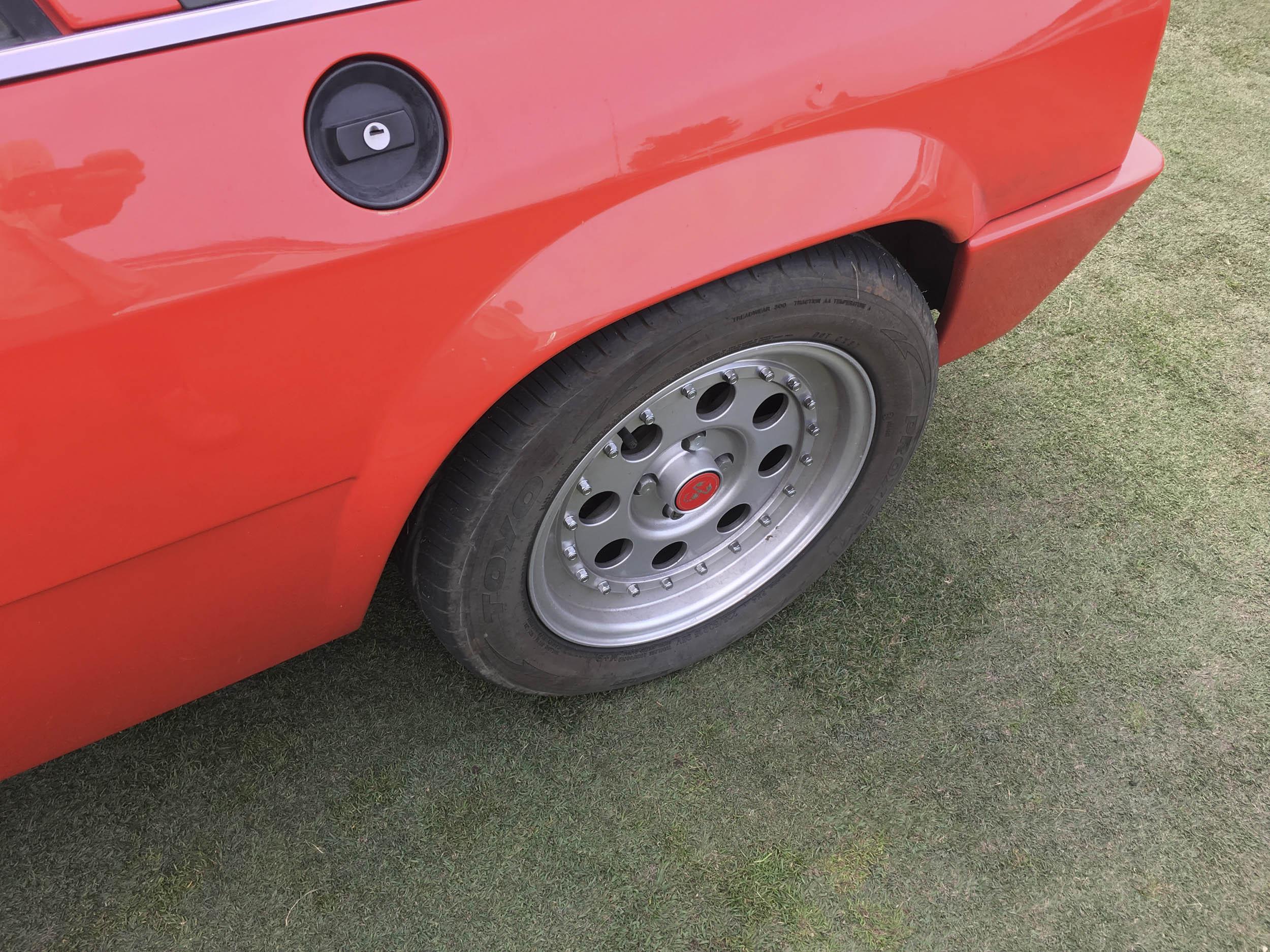 1977 Lancia Scorpion VX wheel detail