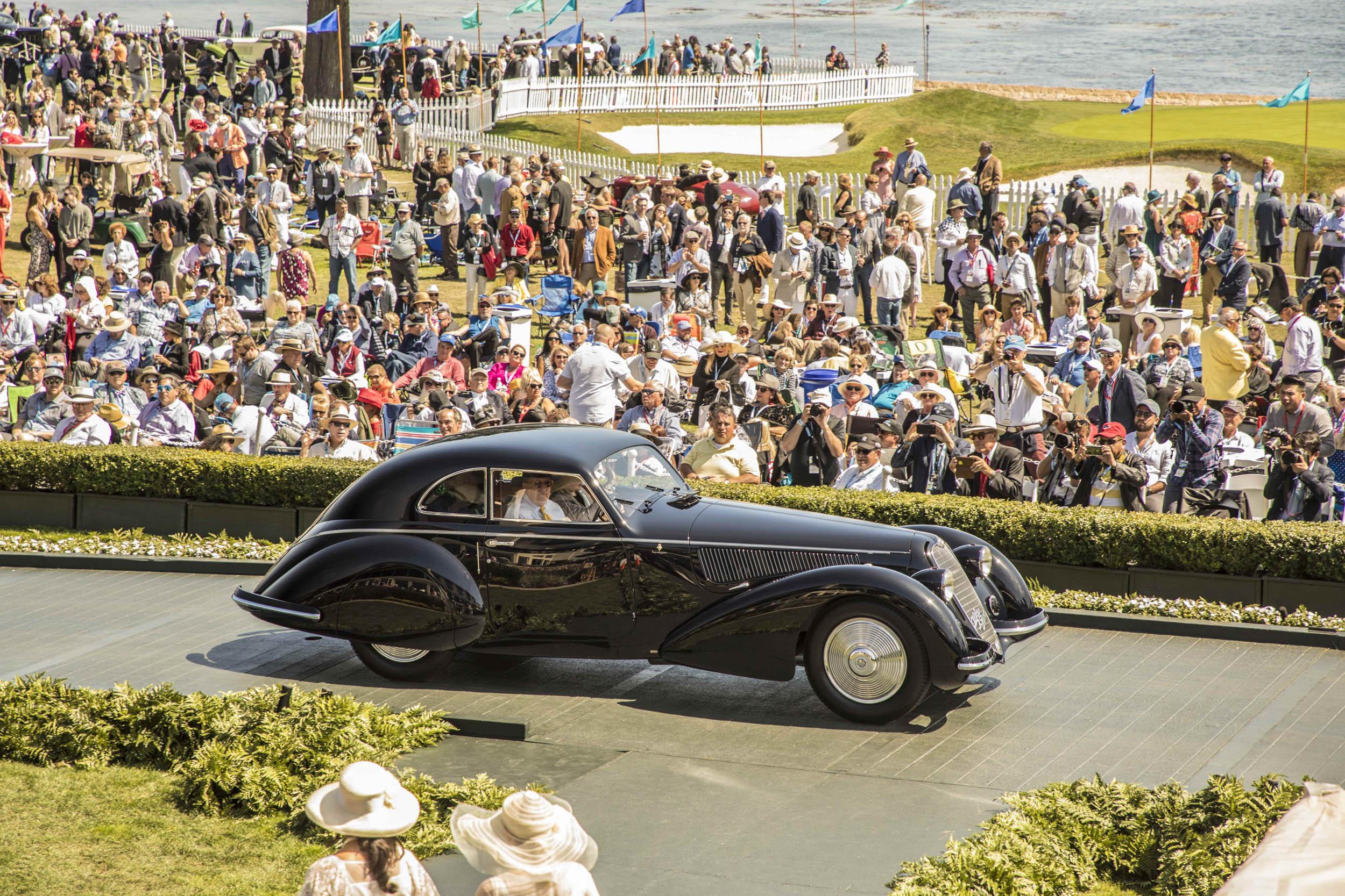 1937 Alfa Romeo 8C best in show winner
