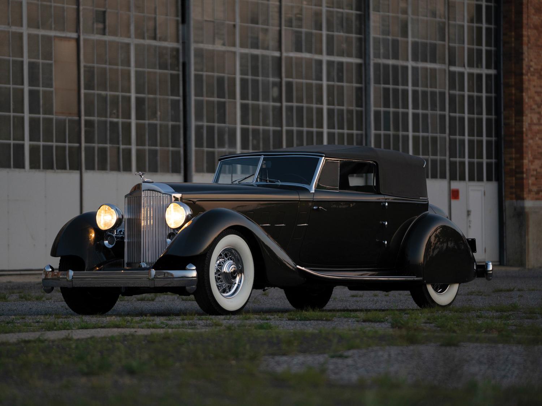 1934 Packard Twelve-Series 1108 Dietrich Convertible Victoria