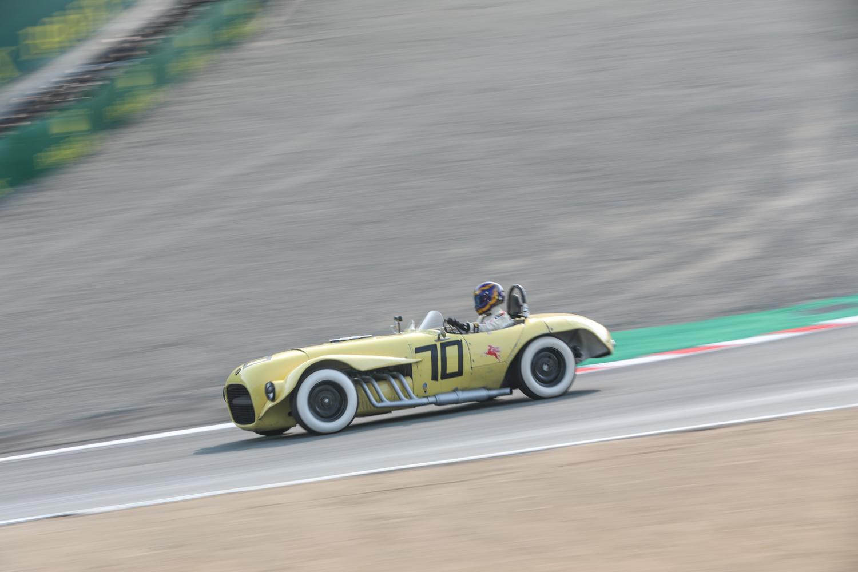 rolex reunion yellow open headers race car white walls