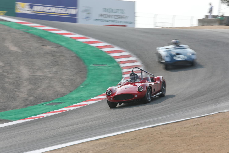 rolex reunion red race car corkscrew
