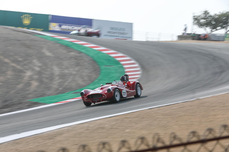 rolex reunion red 229 race car corkscrew