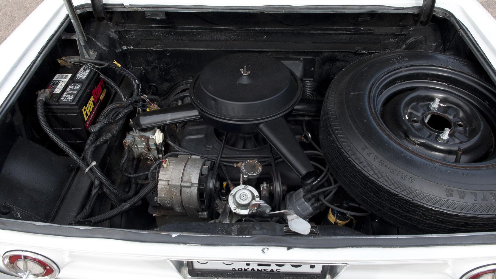Chevrolet Corvair engine rear