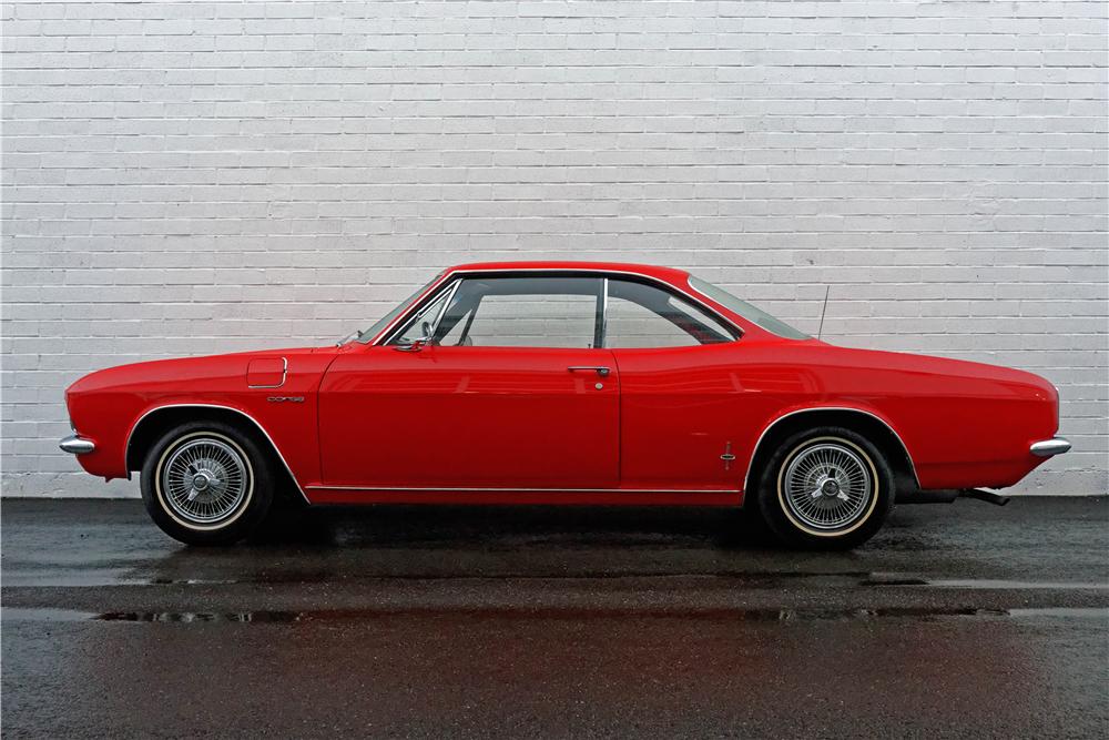 1965 Chevrolet Corvair Corsa side profile