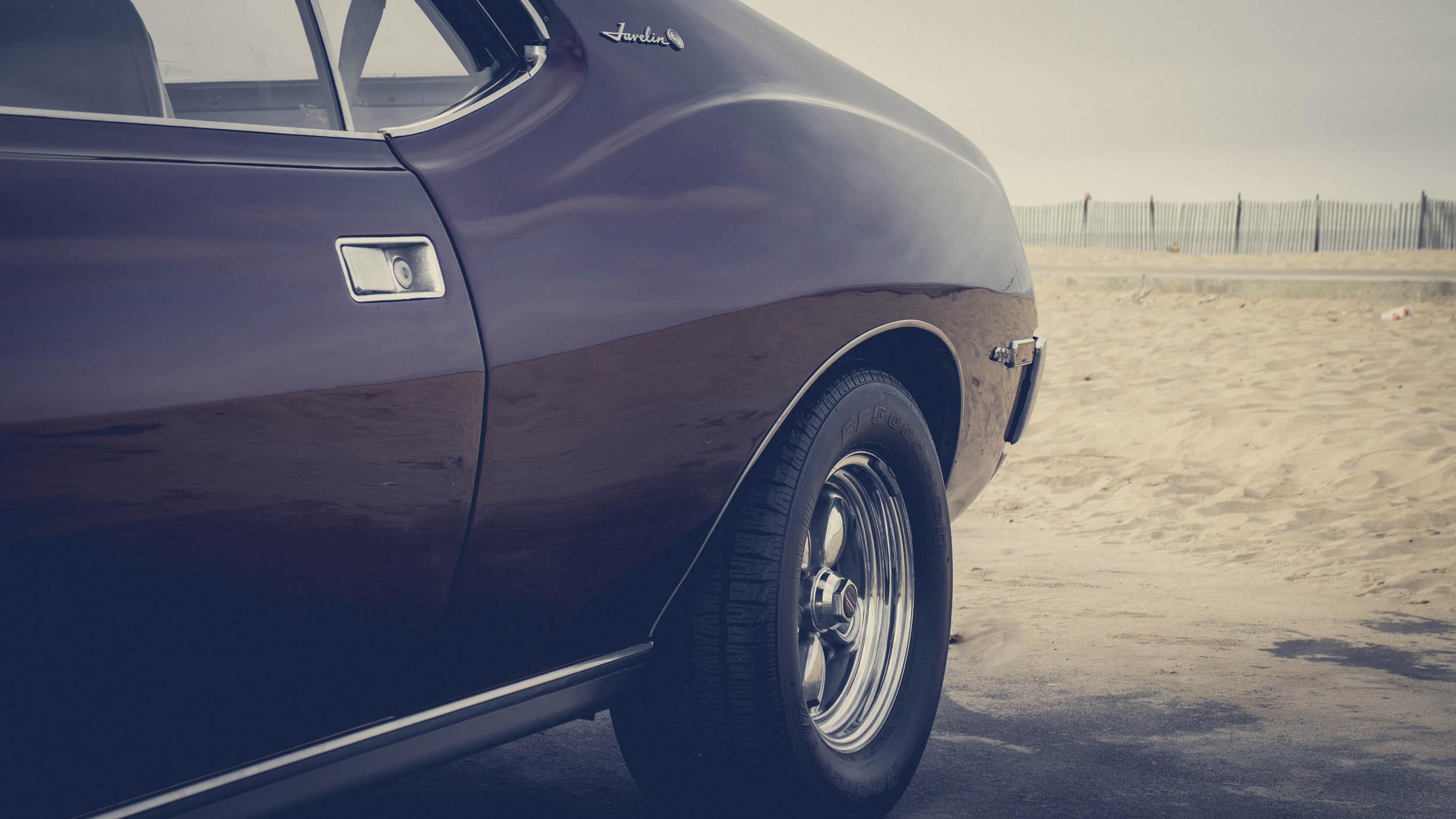 1972 AMC Javelin SST rear fender