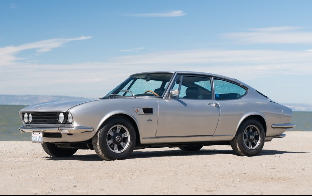 1971 Fiat Dino 2400 silver mountain