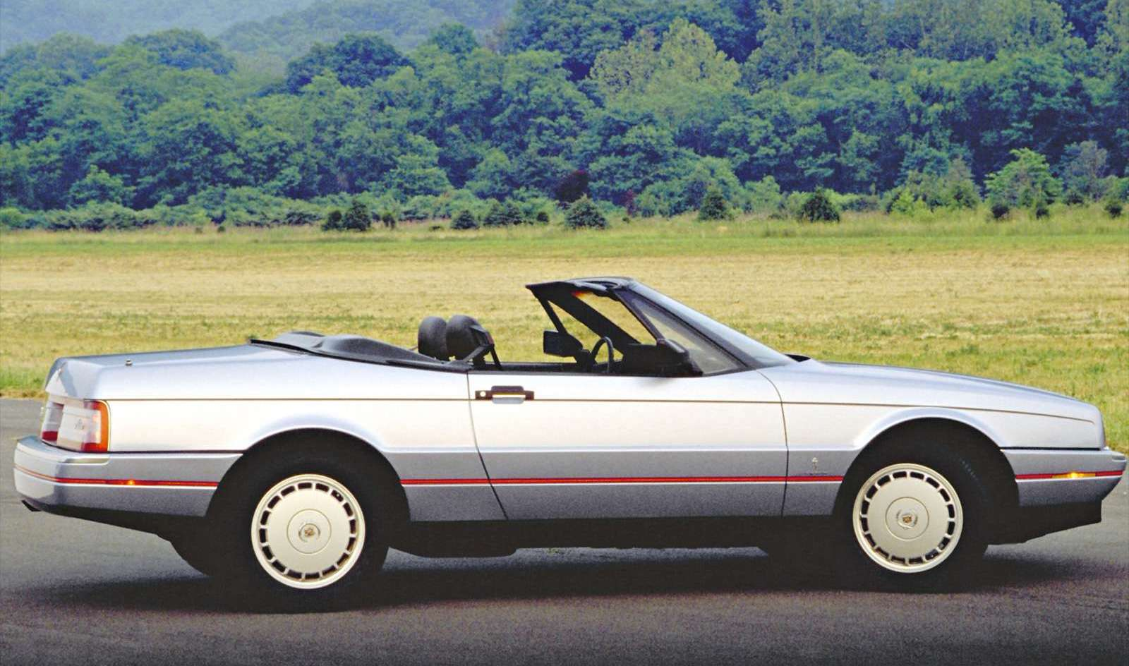 1989 Cadillac Allante side profile