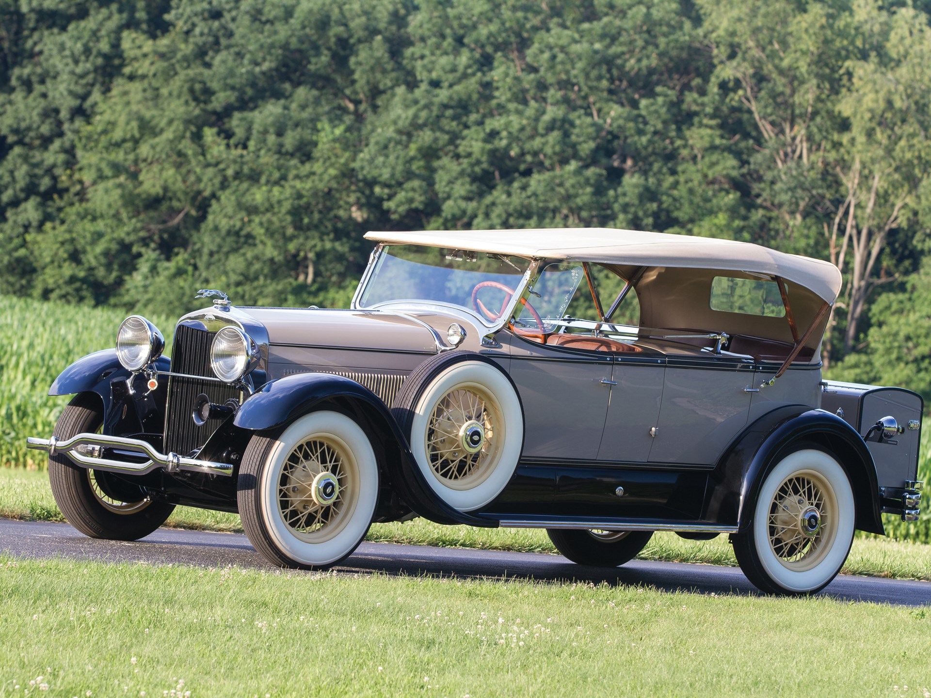 1929 Lincoln Model L engine