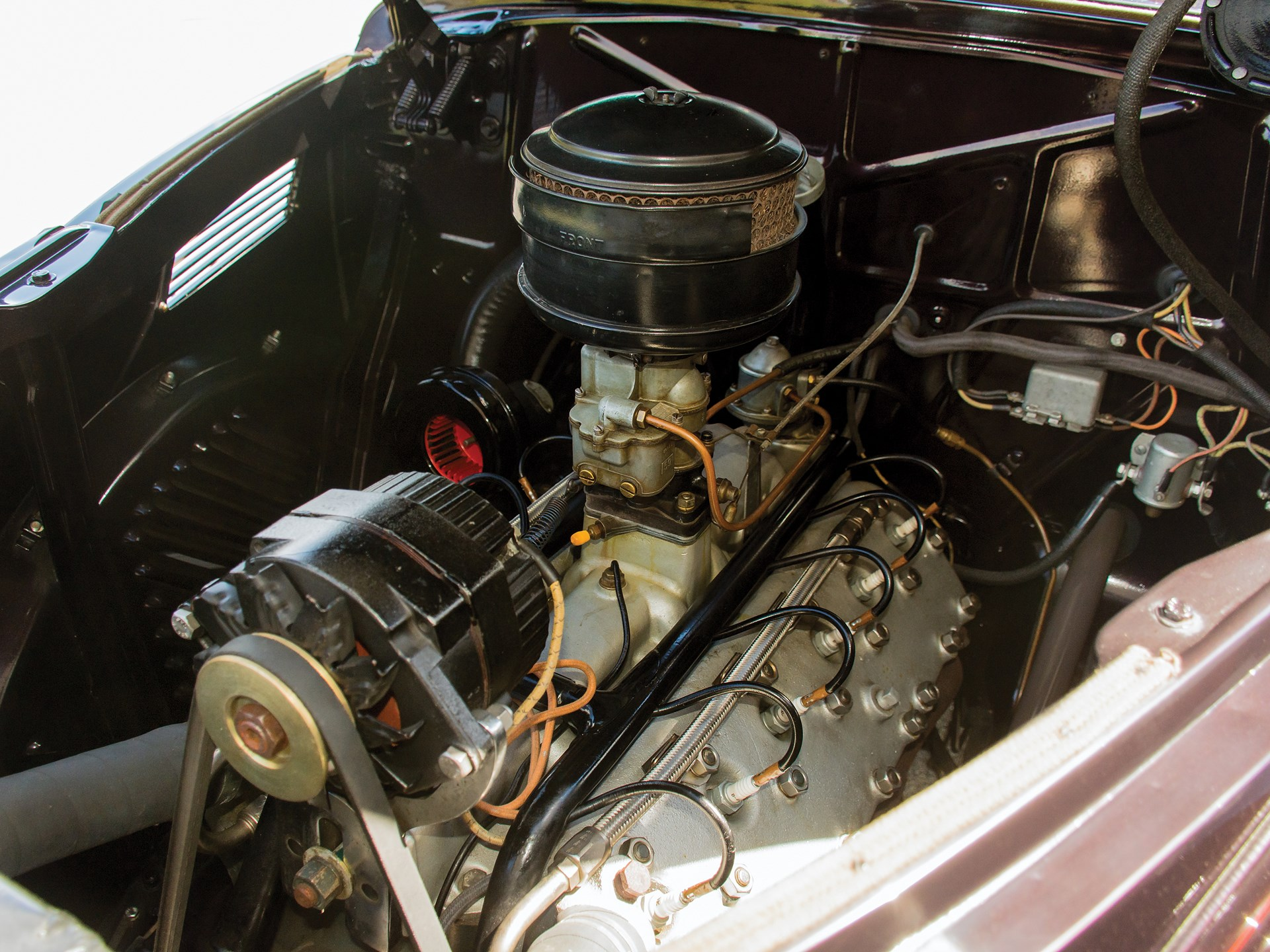 1937 Lincoln Zephyr engine
