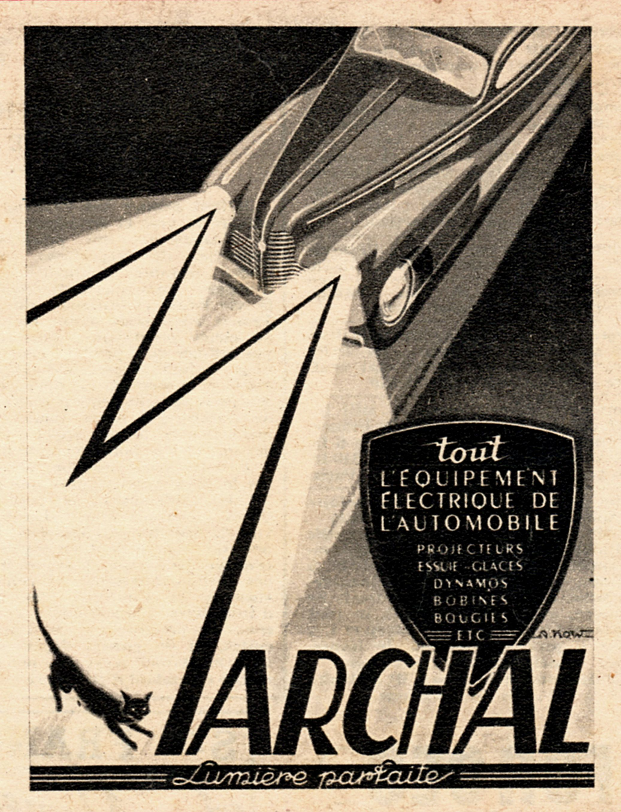 Marchal Headlight Beam