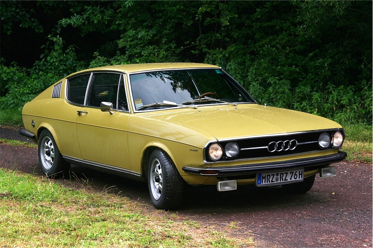 1969 Audi 100 Coupe S