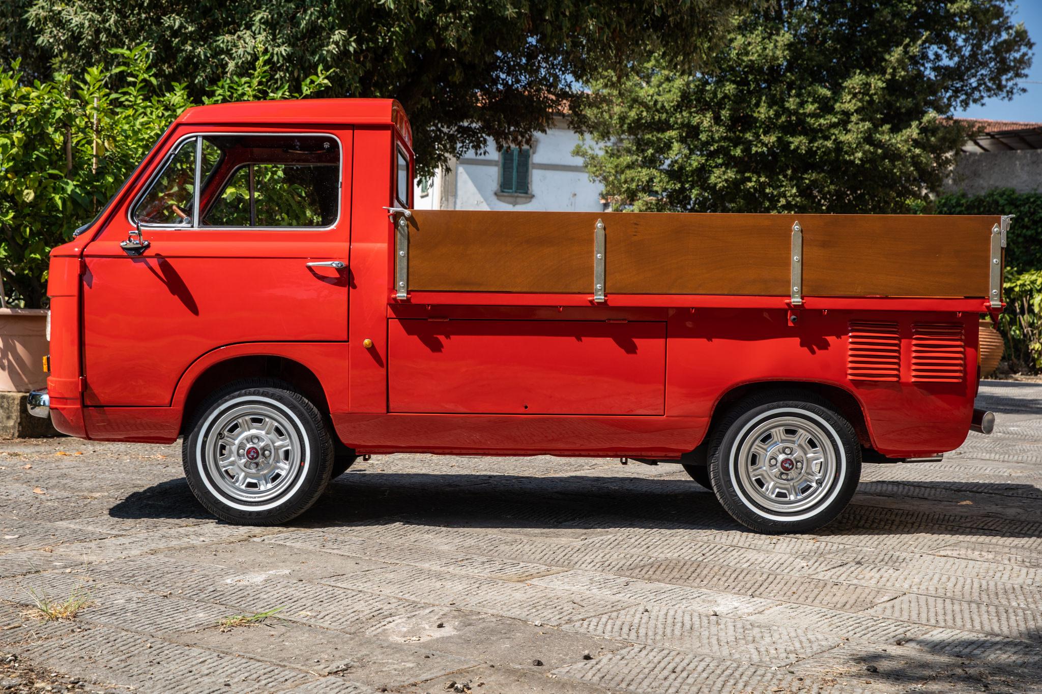 1977 Fiat 900 Coriasco Pickup Side view