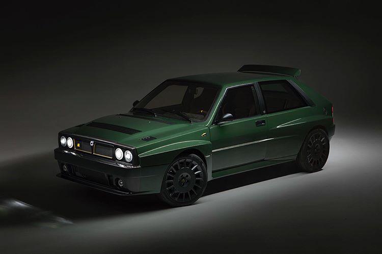 Lancia Delta Futurista front 3/4