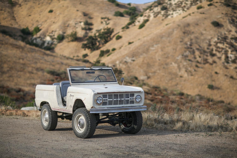 1966 Icon Derelict Bronco passenger 3/4