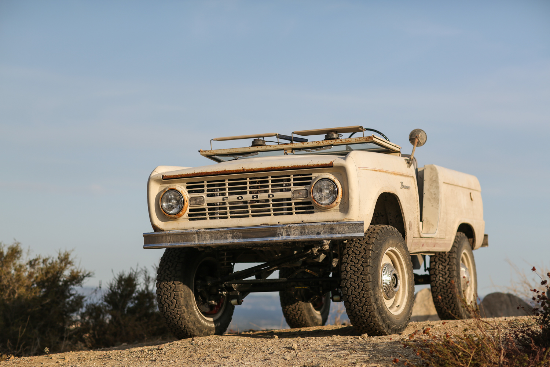 1966 Icon Derelict Bronco windscreen down