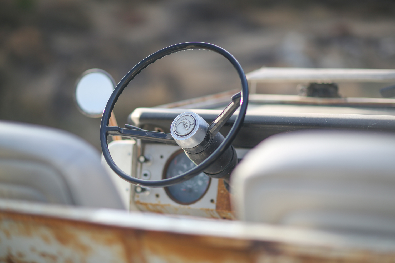 1966 Icon Derelict Bronco steering wheel