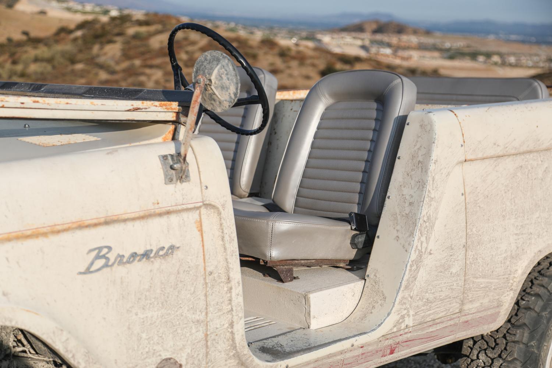 1966 Icon Derelict Bronco driver door