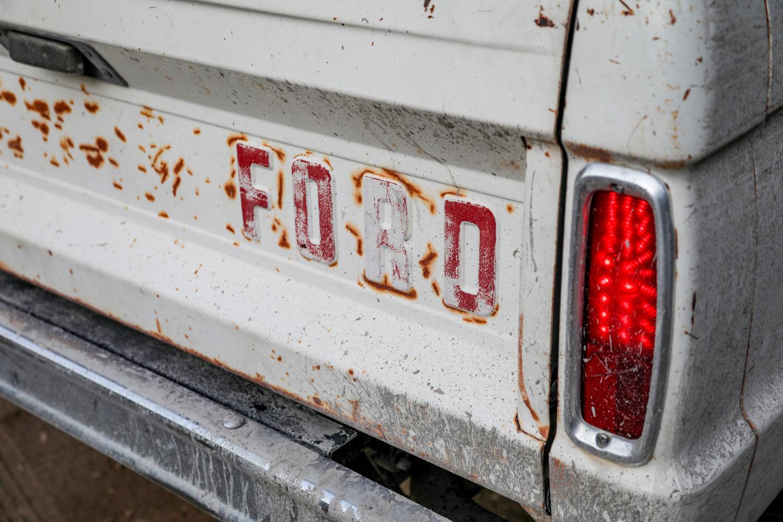 1966 Icon Derelict Bronco tailgate