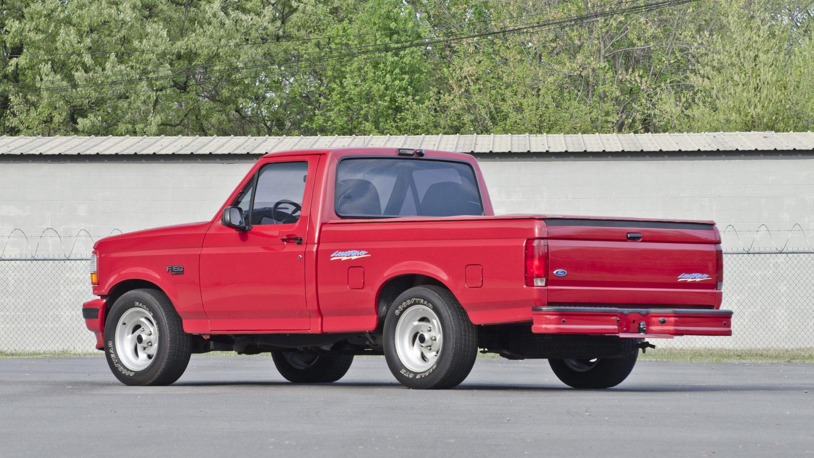 1993 Ford F150 SVT Lightning  rear 3/4
