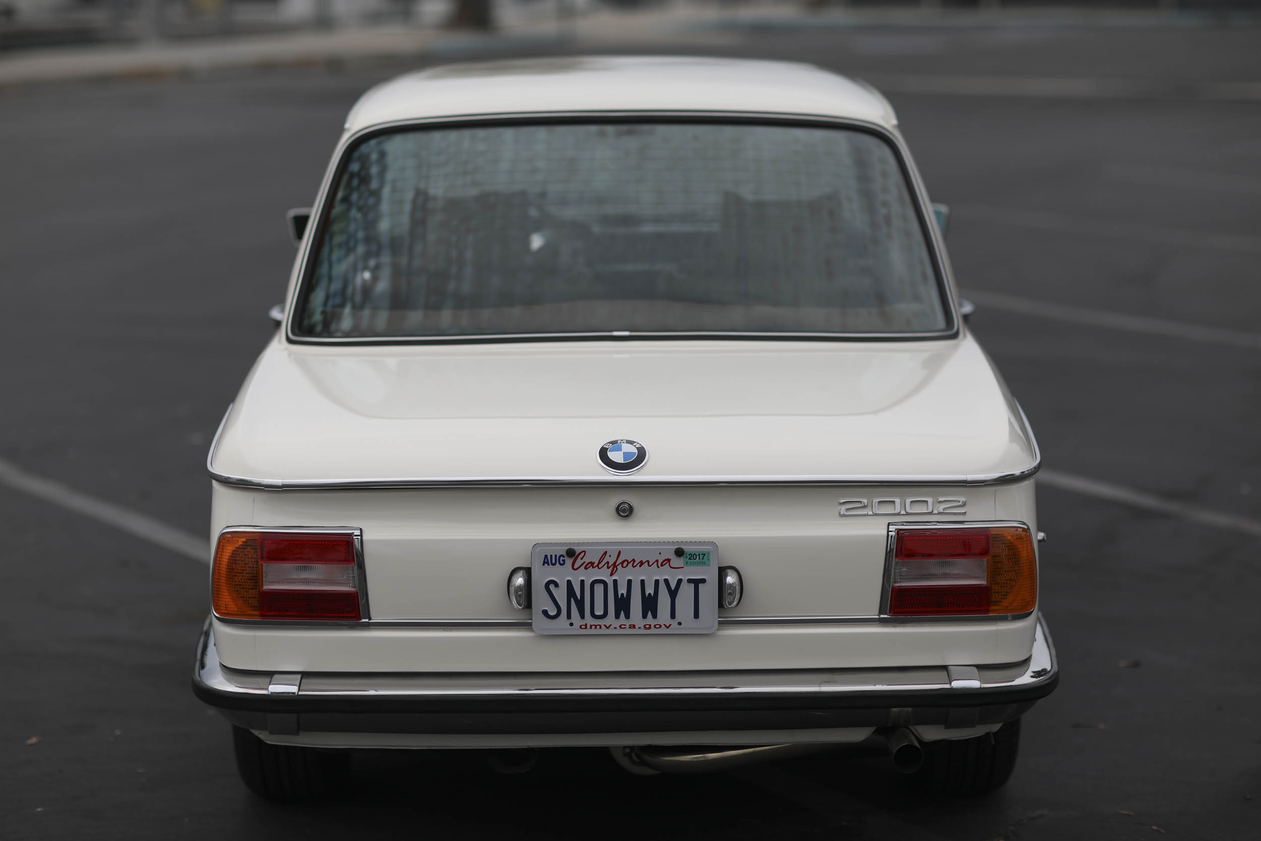1975 BMW 2002 rear
