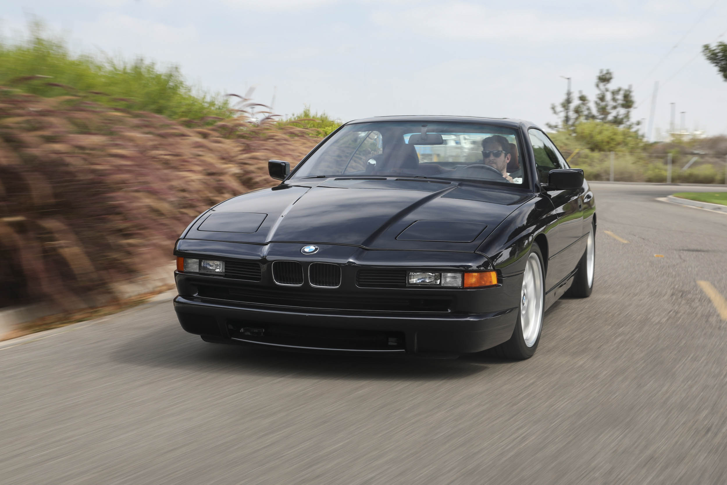 1993 BMW 850Ci driving